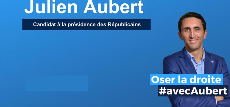 Pourquoi je parraine Julien Aubert pour la Présidence des Républicains